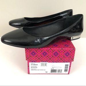 Tory Burch Darley Ballet Flat Embellished Heel